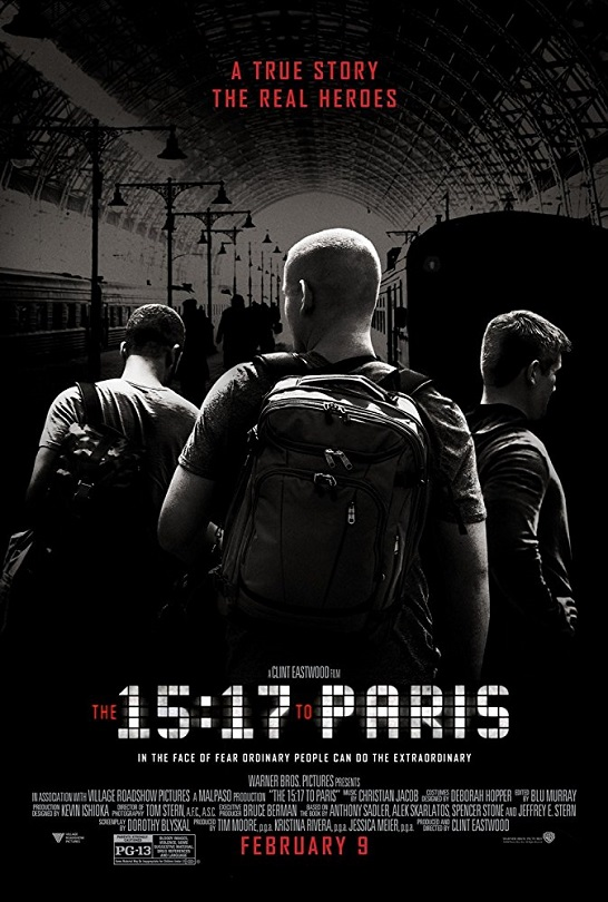 Clint Eastwood's 15:17 to Paris